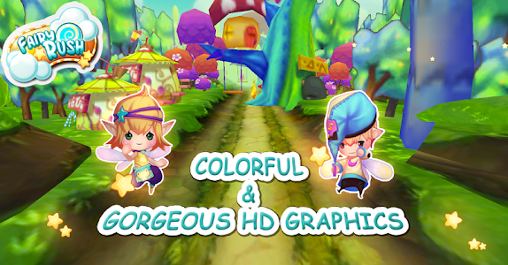 Fairy Surfer: Fly To Magicland screenshot 0