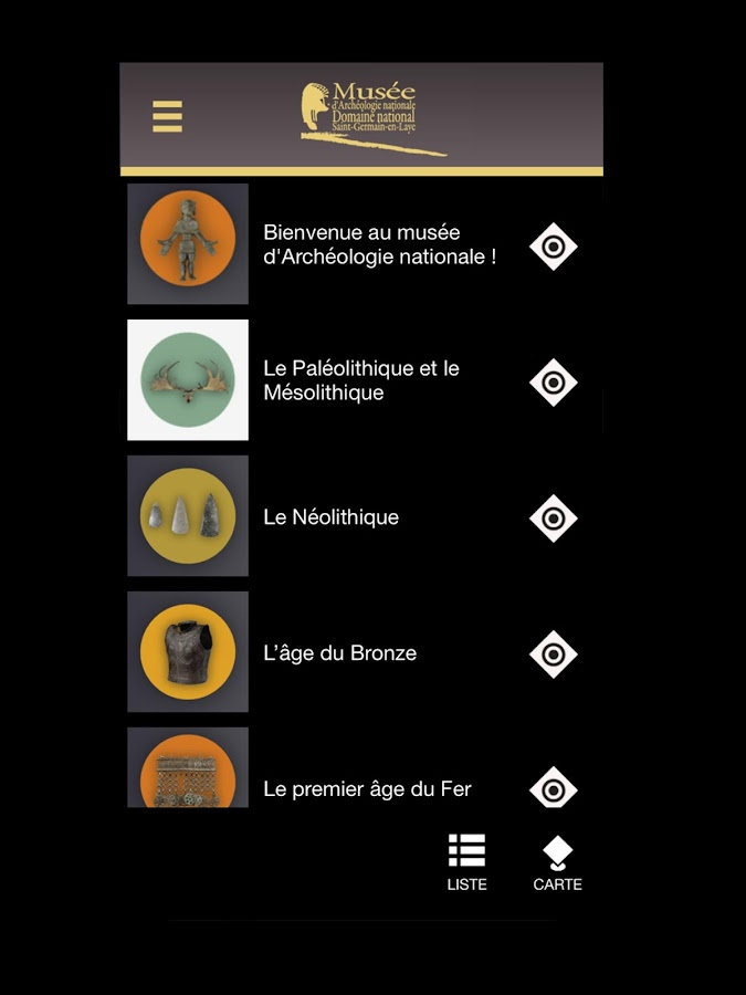 ArcheoMAN, l'appli officielle- screenshot
