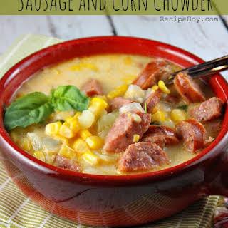 Sausage and Corn Chowder.
