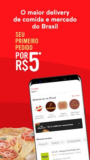 iFood - Delivery de Comida e Mercado  screenshots 1