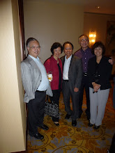Photo: Yeung Nai Luen, Francis & Lilian Lee, Edward the Principal Woo & Kathleen.