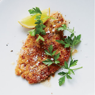 Pan-Fried Flounder with Lemon-Butter Sauce