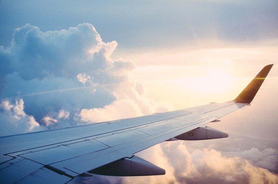 平面, 旅行, 旅, 探る, 発見します, 空, 翼, 舞い上がる, フライト, 飛行, 空気, 天, 飛行機