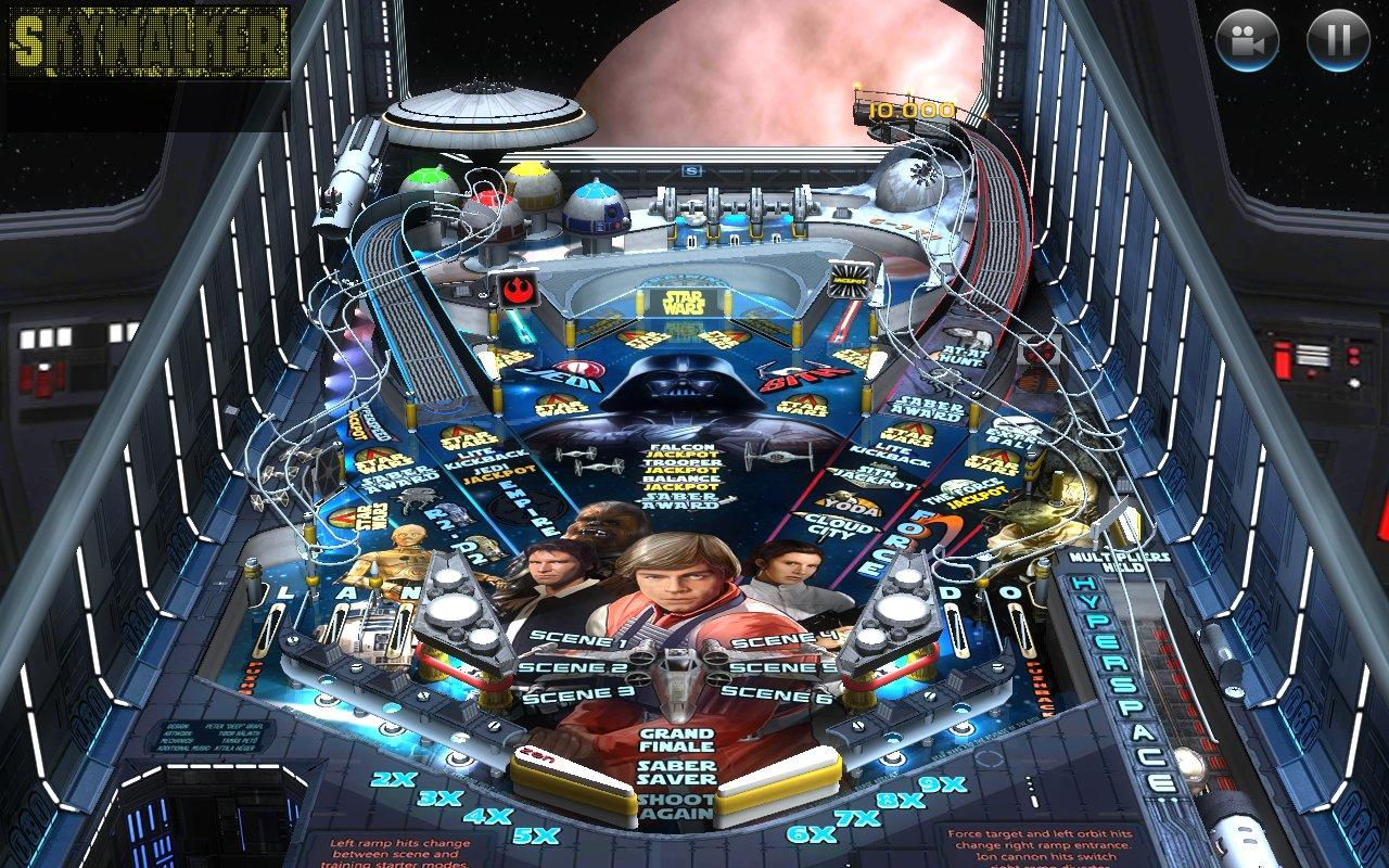 Star Wars Premium Pinball (Stern) Overview - v.092 - YouTube