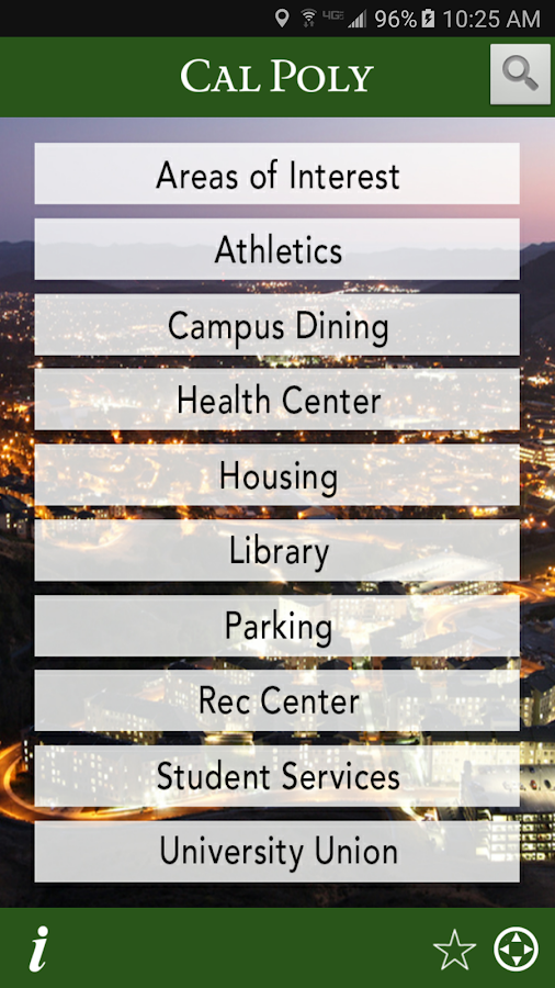 Tour Cal Poly- screenshot