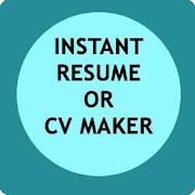 Instant Resume / CV Maker Free
