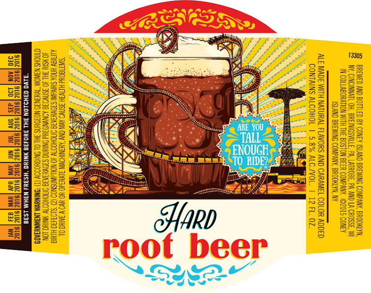 Logo of Coney Island Hard Root Beer
