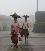 Photo: Year 2 Day 59 - Food Vendors in the Misty Rain