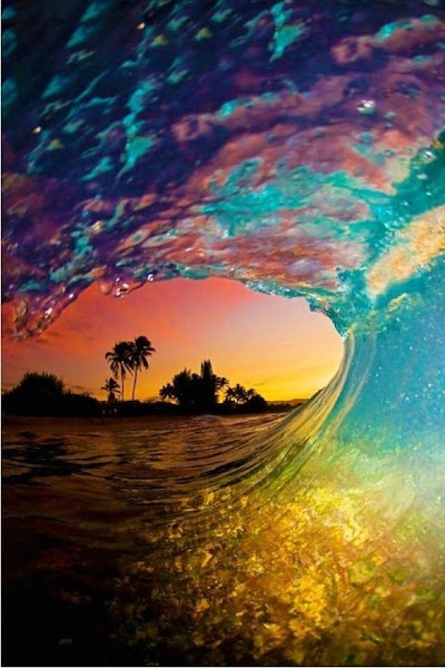 Photo: Ride the wave.
