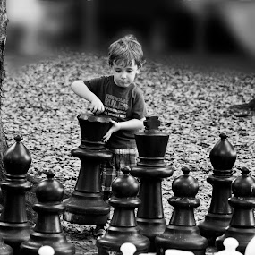 Let's play chess by Katya Dakova - People Fine Art