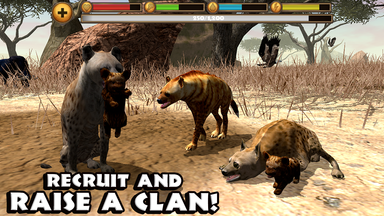 Hyena Simulator- screenshot