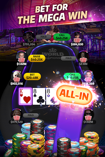 Mega Hit Poker: Texas Holdem massive tournament  gameplay | by HackJr.Pw 9