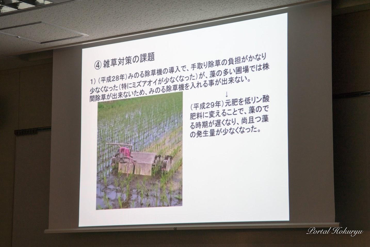 ④ 雑草対策の課題