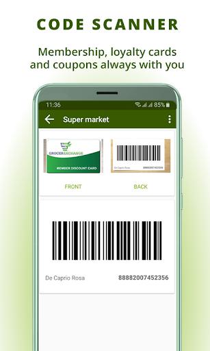 Grocery list, card coupon wallet: BigBag Pro screenshot 7