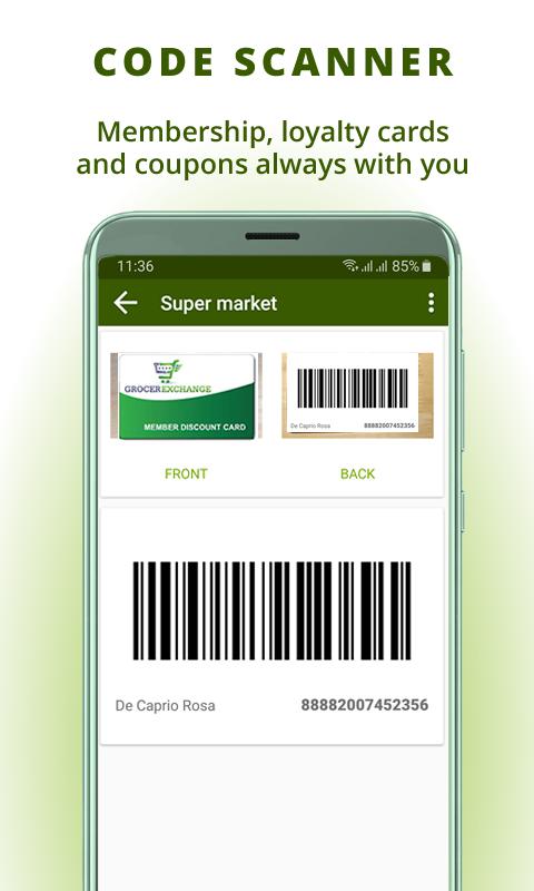 Grocery list, card coupon wallet: BigBag Pro Screenshot 6