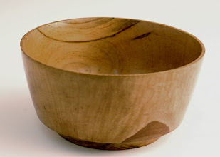 "Photo: Bill Autry - Bowl - 6"" x 3"" - Wormy Maple"