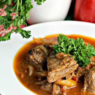 Quick and Easy Stovetop Beef Stew.