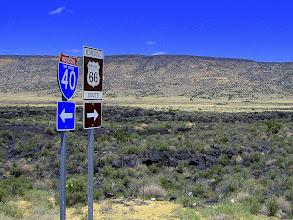 Photo: W lewo na autostradę, w prawo- wiadomo...