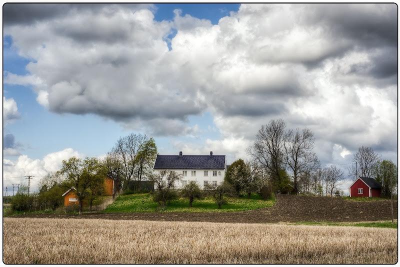 """Photo: """"Cloudy Farm"""""""
