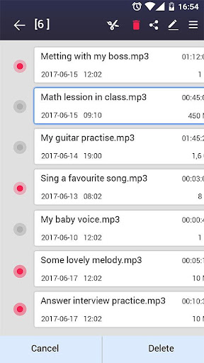 voice recorder screenshot 15