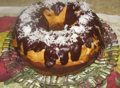 Chocolate  Coconut Bundt Cake Recipe