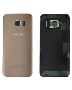 Galaxy S7 Edge Back Cover Gold