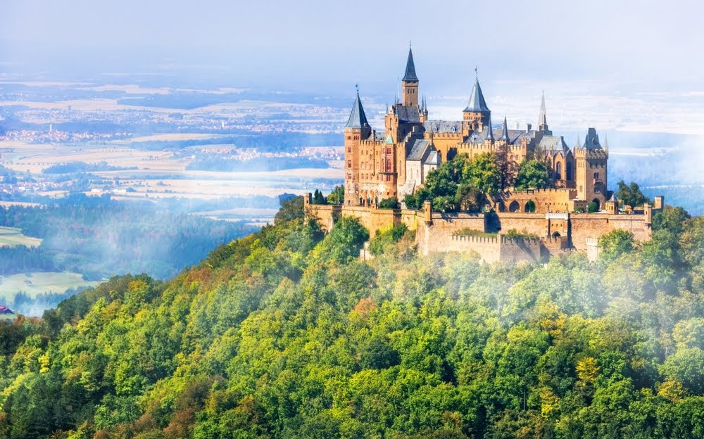 castillo de Hohenzollern Alemania