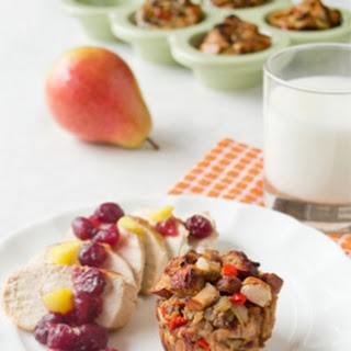 Balsamic Chicken & Stuffing Muffins