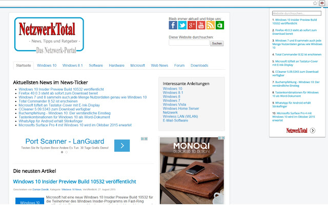 NetzwerkTotal News