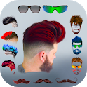 Hairy - Men Hairstyles beard & boys photo editor icon