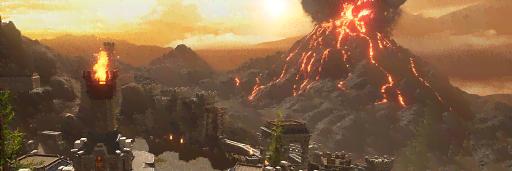 テッカス火山