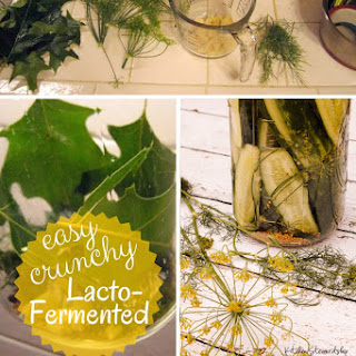 Crisp Lacto-Fermented Garlic Pickles