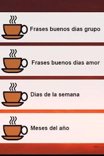 Frases Buenos Días Grupo yAmor APK Captura de pantalla