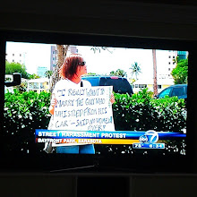 Photo: 4.13.13 Sarasota, Florida rally made the evening news