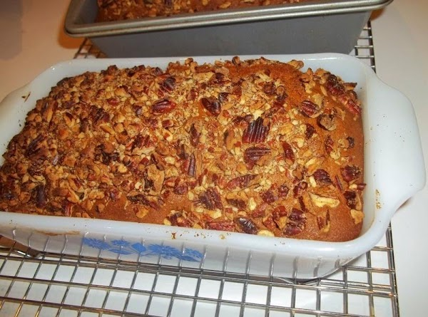 Bake for 65 - 70 minutes, or until pick comes out clean. Cool for...