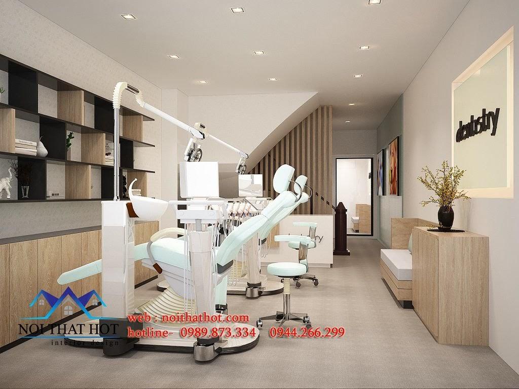 thiết kế phòng khám nha khoa hiện đại
