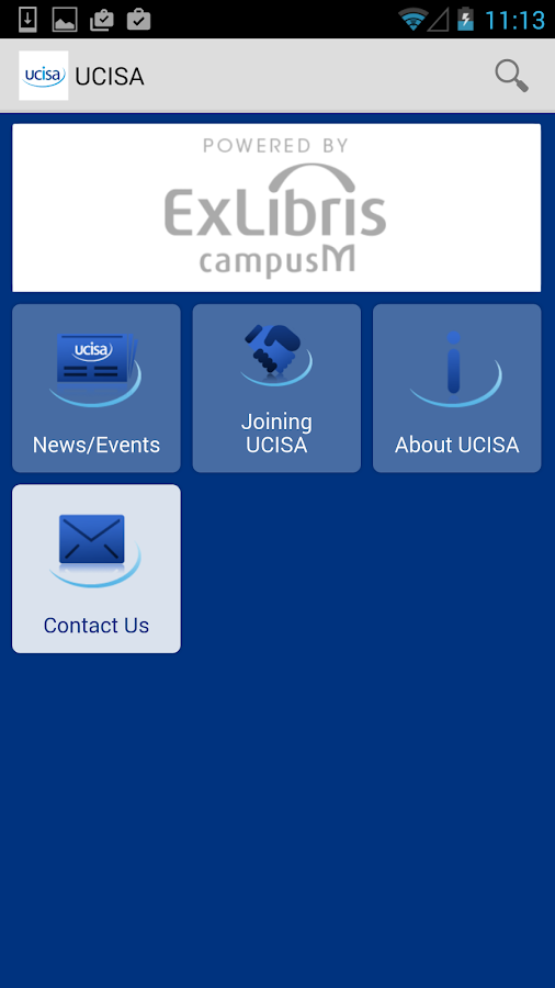 UCISA- screenshot