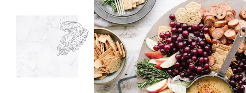 Appetizer Plate - Facebook Page Cover Template