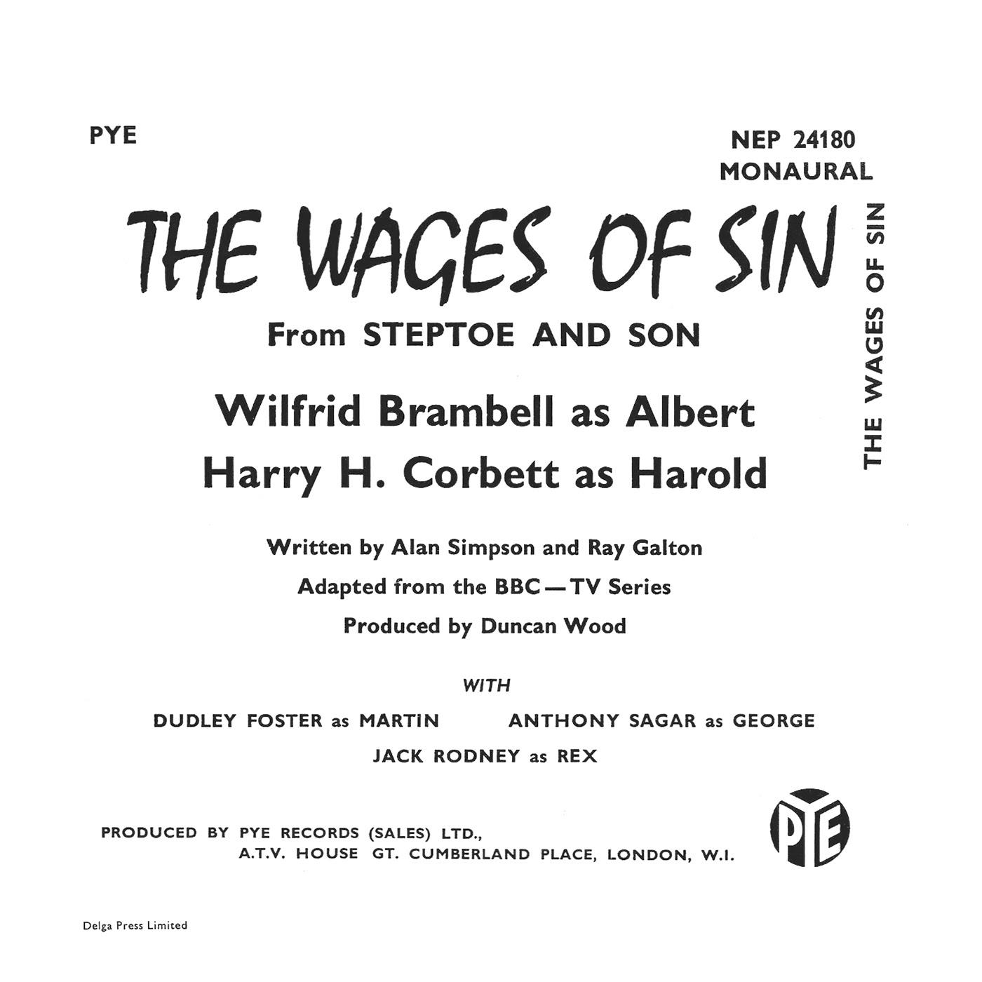 Wilfrid Brambell, Harry H. Corbett