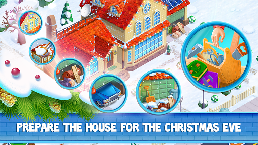 Christmas Sweeper Mansion  captures d'écran 2