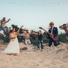 Wedding photographer Konstantinos Poulios (poulios). Photo of 22.08.2017