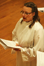 Photo: Michelle Boomgaard sings Psalm 87