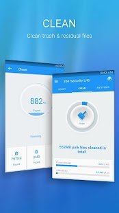 360 Security Lite - Booster, Cleaner, AppLock- screenshot thumbnail