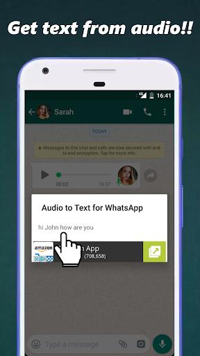 Audio to Text for WhatsApp 3.3 screenshots 4