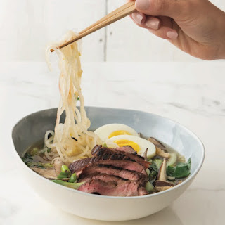 "Daikon ""Ramen"" With Skirt Steak"