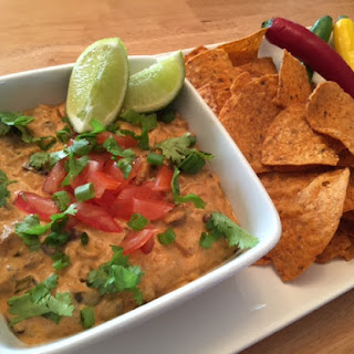 Spicy-n-Creamy Bean & Turkey Dip