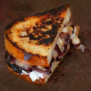 Grilled Blue Cheese, Radicchio and Fig Sandwiches.