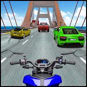 Moto Bike Race Highway Traffic