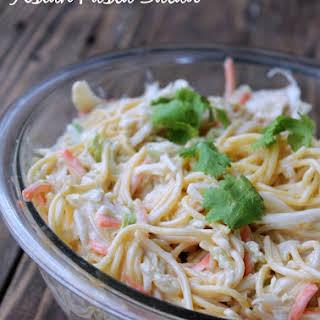 Asian Pasta Salad #Healthiersideofmayo.