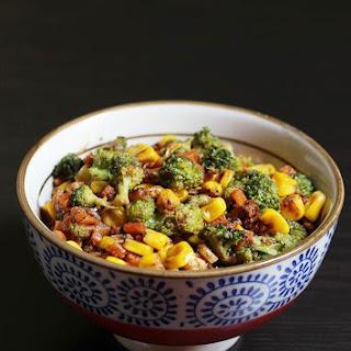 Easy Broccoli Recipe - Quick and Easy Broccoli Corn Stir Fry Recipe